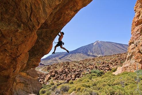 Tenerife Activites Rock Climbing
