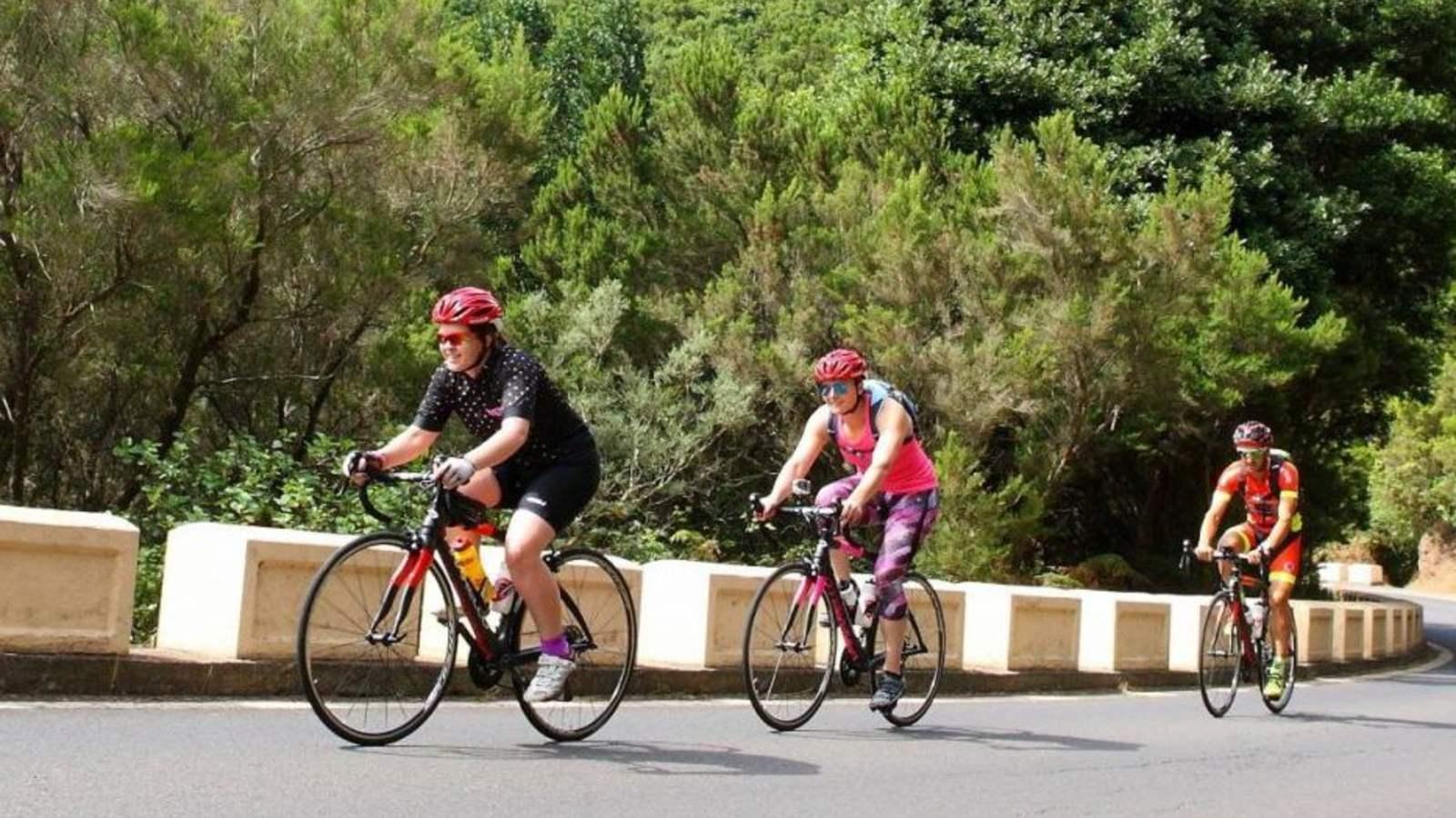 Ir en bicicleta a Masca requiere experiencia y una buena condición física