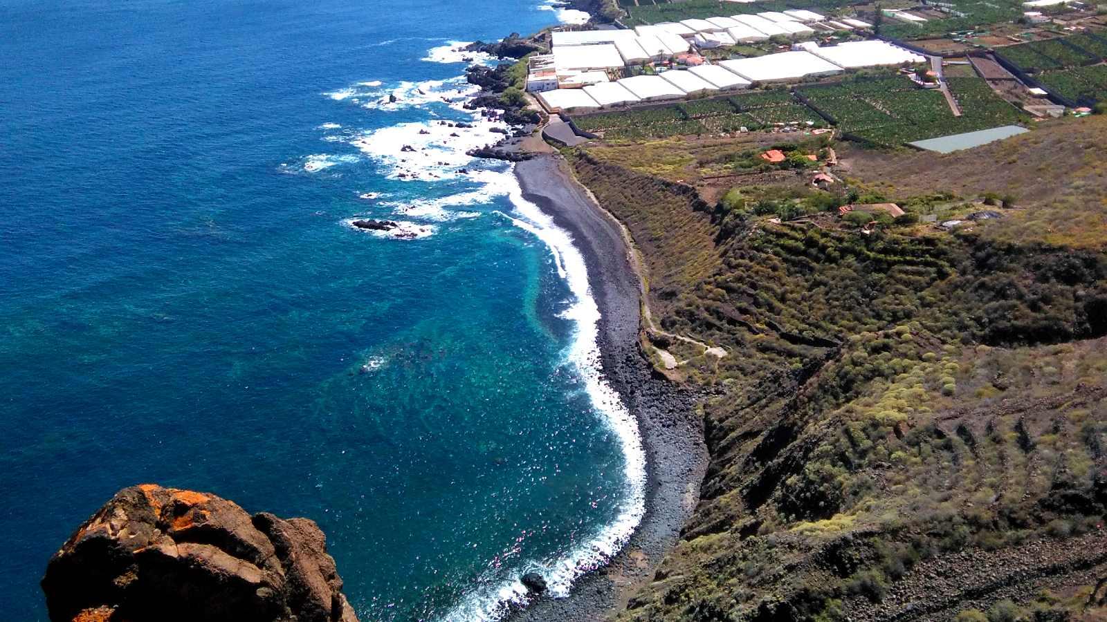 Vistas a la costa de Buenavista del Norte desde el Mirador de Punta del Fraile